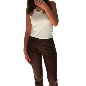 Ministry of Style Leather Pants Leggings